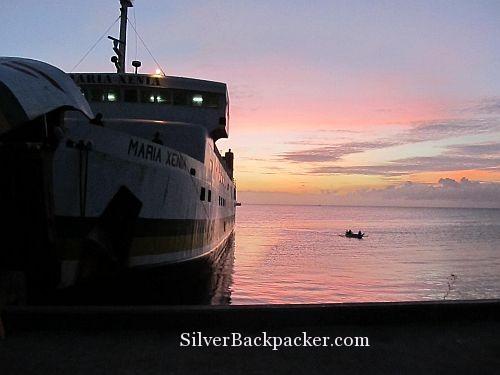 Sunrise at Roxas Port Mindoro