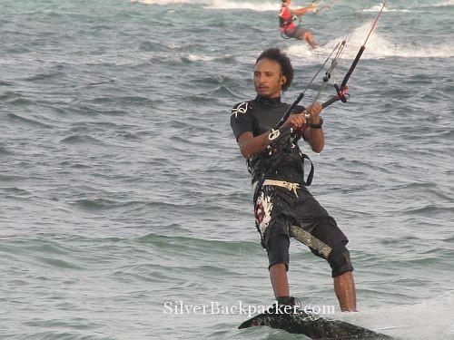 Kitesurfing  Bulabog Boracay
