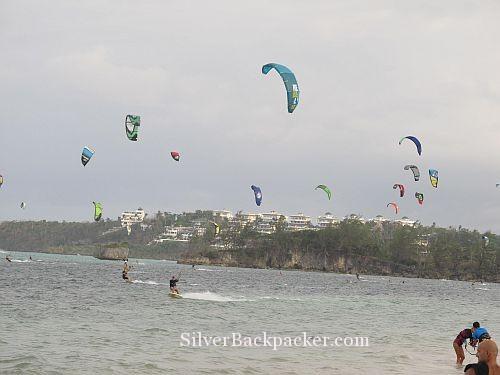 Captivating Kitesurfing Bulabog Beach in Boracay