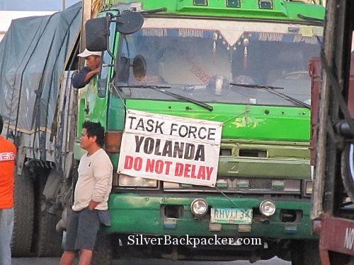 Yolanda Task Force waiting to board in Roxas
