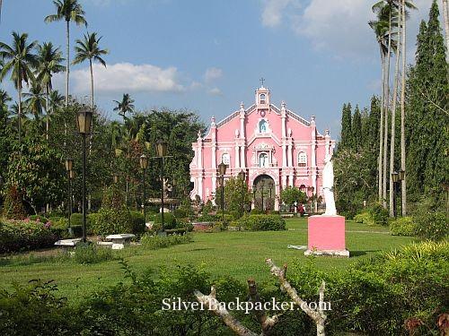 Pink Church Villa Escudero