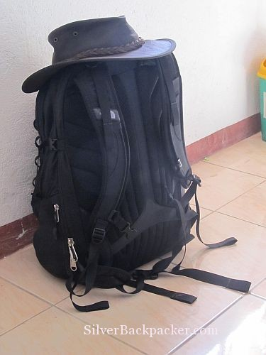 setting out on a Truth Seeking Journey with my backpack