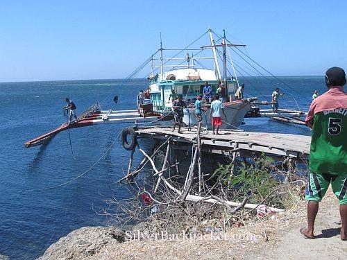 Slow travel to Semirara Island by boat