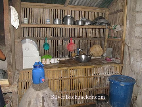 Semirara Homestay Kitchen