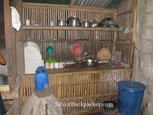 Semirara Homestay Kitchen