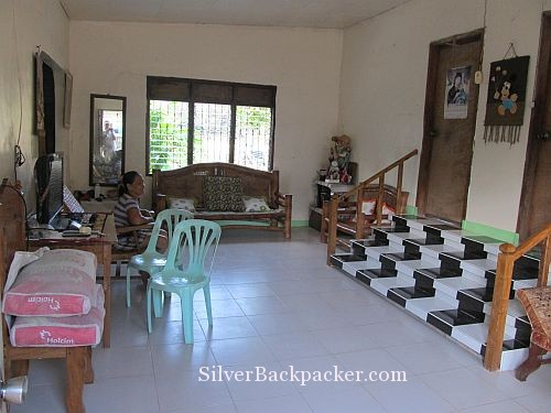 Semirara Homestay Sitting room