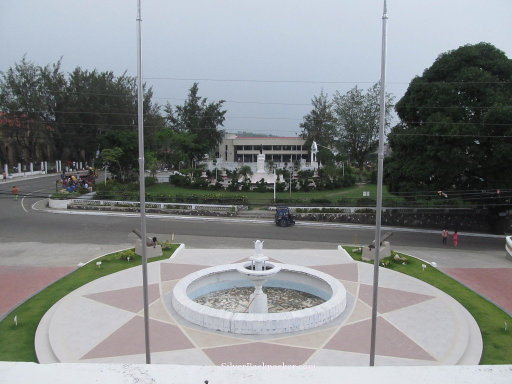 View over Miagao Plaza