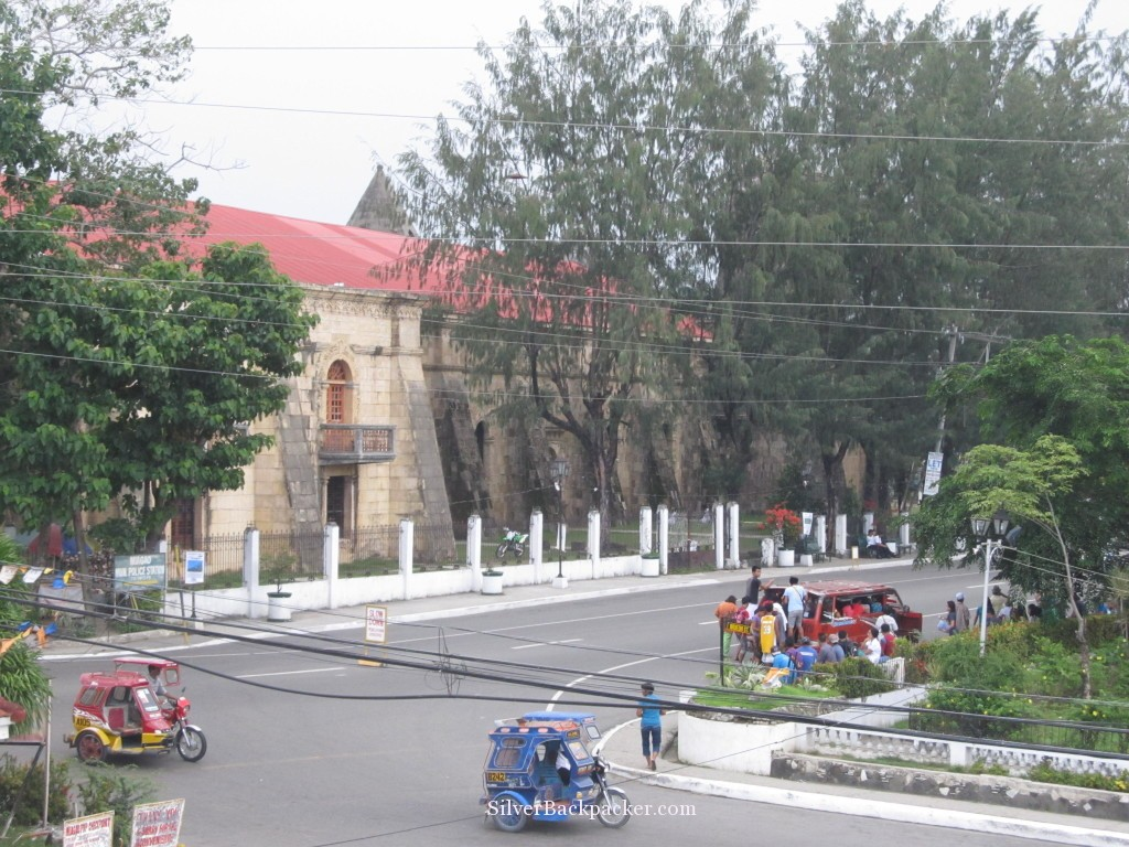 Miagao Church seen from Municipal Hall