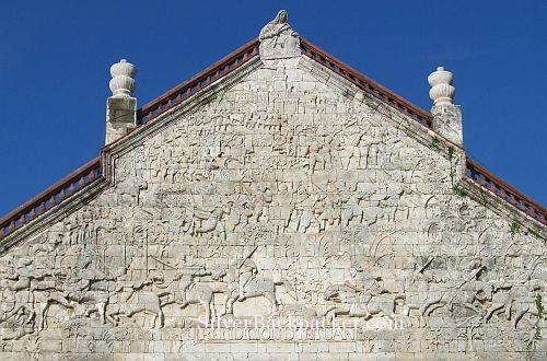 San Joaquin Bas relief