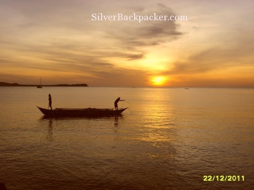 philippine sunsets Sunset at Fish Sanctuary Looc