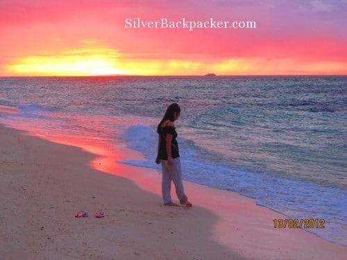 philippine sunsets sunset puka beach boracay