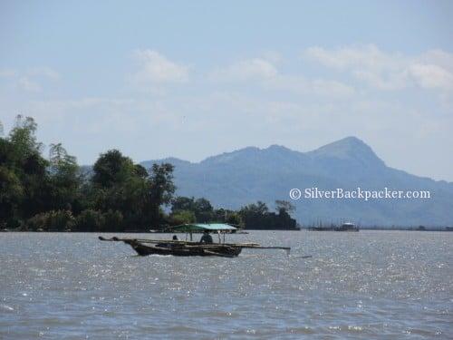 View of Mt tagapo talim island