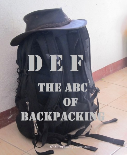 ABC of Backpacking DEF