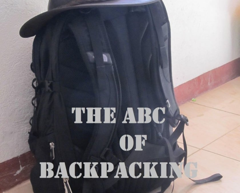 The ABC of Backpacking – ABC