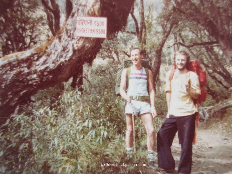 Backpacking in Nepal in 1977