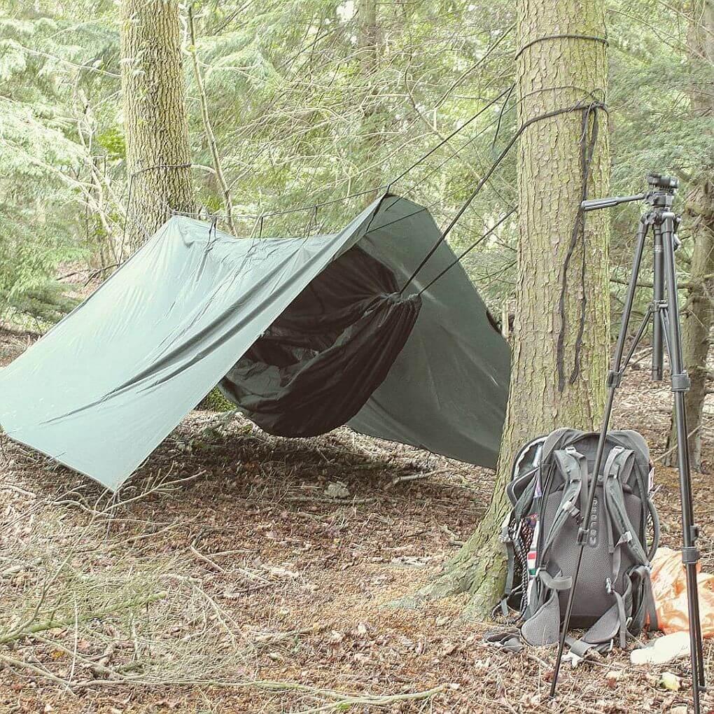 the hopeful vagabond camping