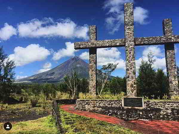 memorial at Sto. Domingo Albay
