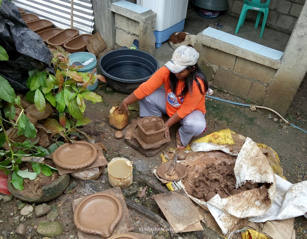 a potter at work, iguig, cagayan valley