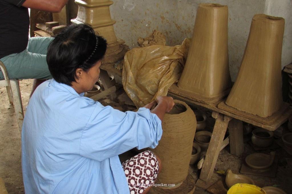 a potter at work, iguig, cagayan valley