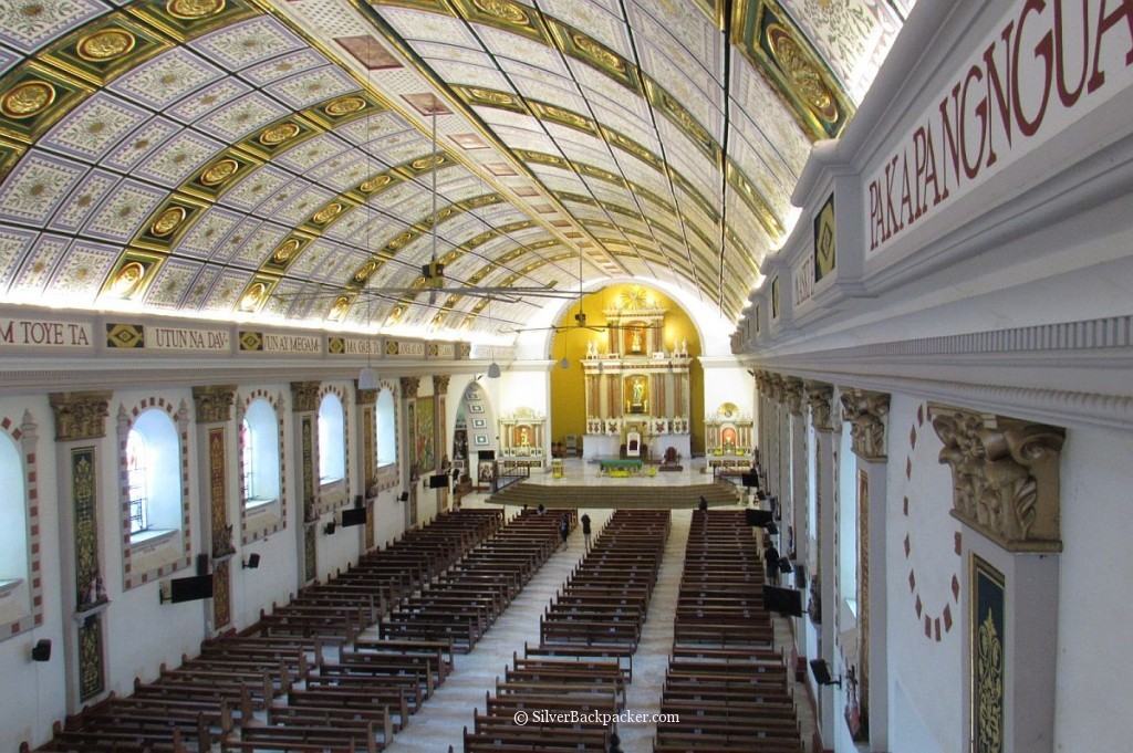 interior tuguegarao cathedral cagayan valley
