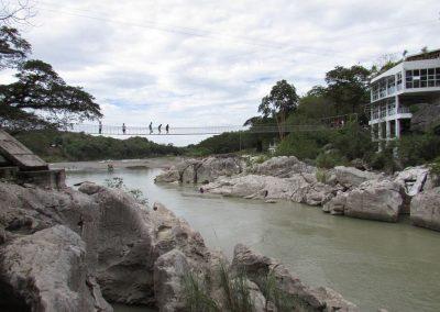 Hanging Bridge at Minalungao National Park Nueva Ecija
