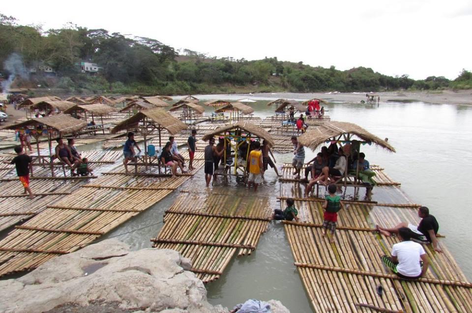Minalungao National Park Rafts and picnic area