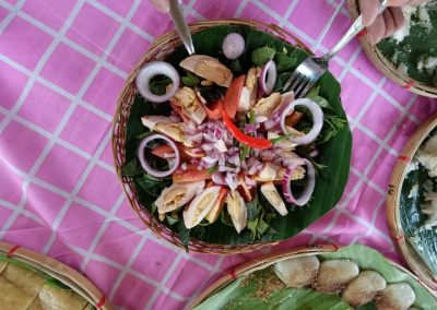 Salad making pmp paradise farm