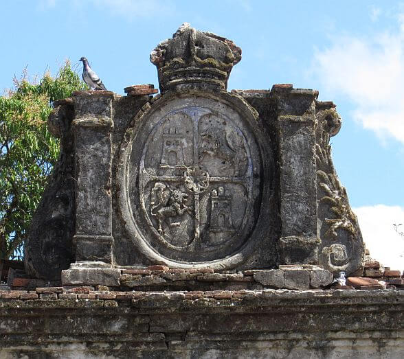 Spanish Coat of Arms, Casa De Real, Bucay, Abra