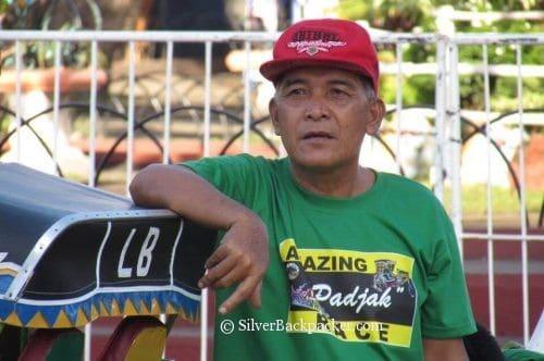 Participant in Amazing padyak race tabak festival 2017