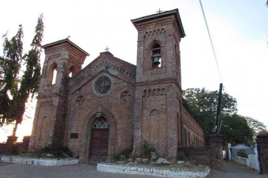 San Lorenzo de Ruiz Shrine, Bangued, Abra front view from right side