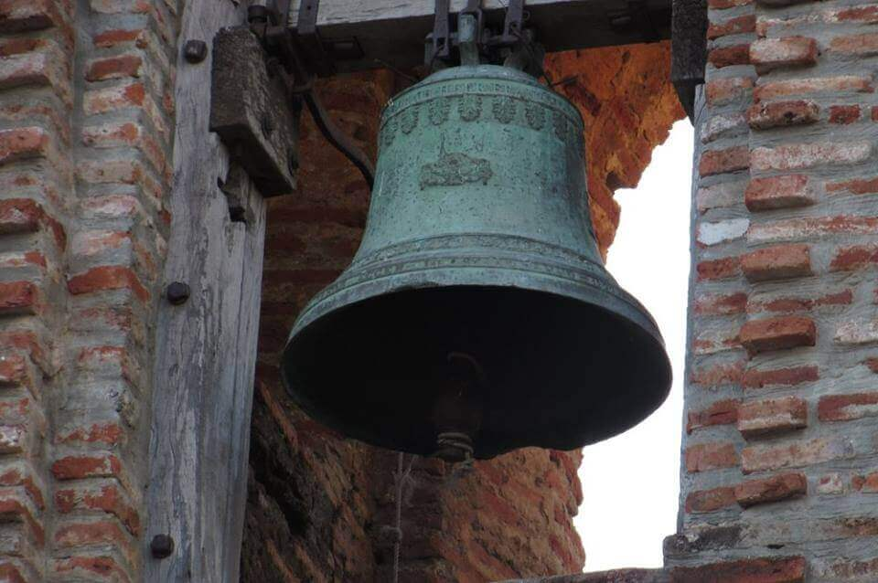 San Lorenzo Ruiz Shrine, Bangued, Abra hanging bell close up