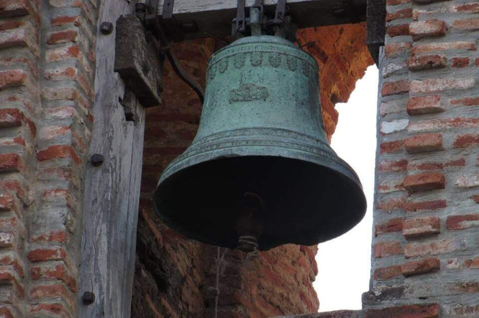 San Lorenzo Ruiz Shrine, Bangued, Abra hanging bell close up