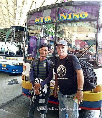Silverbackpacker with Edmar of Edmaration #Town Explorer by Bus to Abra