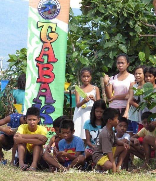 Tabak Festival Games Crowd on San Miguel Island