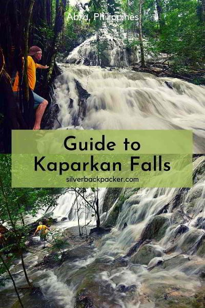 A real wonder of nature. Our Guide to Kaparkan Falls, Abra, Philippines