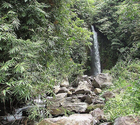 First sighting of Oras Falls, Tabaco, Albay