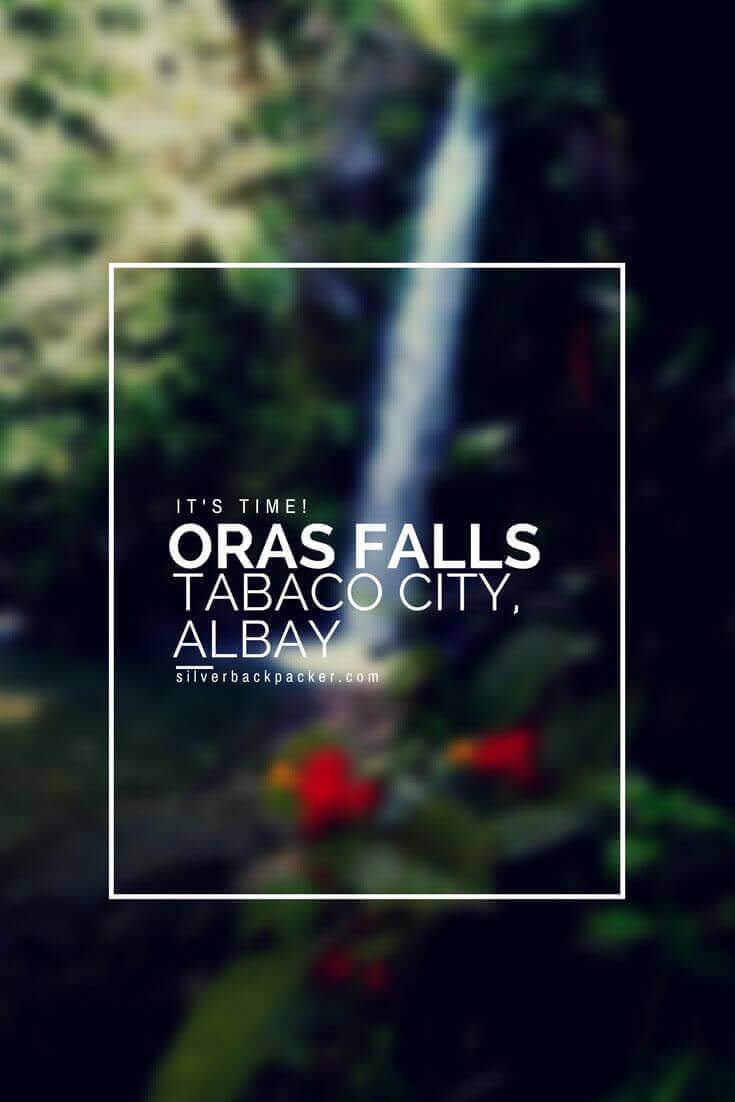 Its Time to visit Oras Falls, Tabaco, Albay