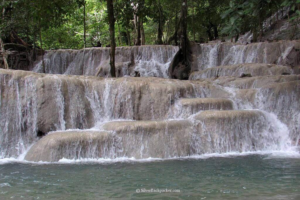 Kaparkan Falls, Abra upper level terraces