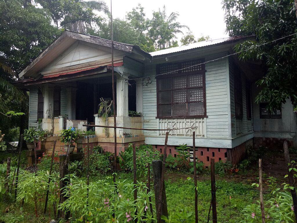 American Era House inside ASIST campus,Lagangilang