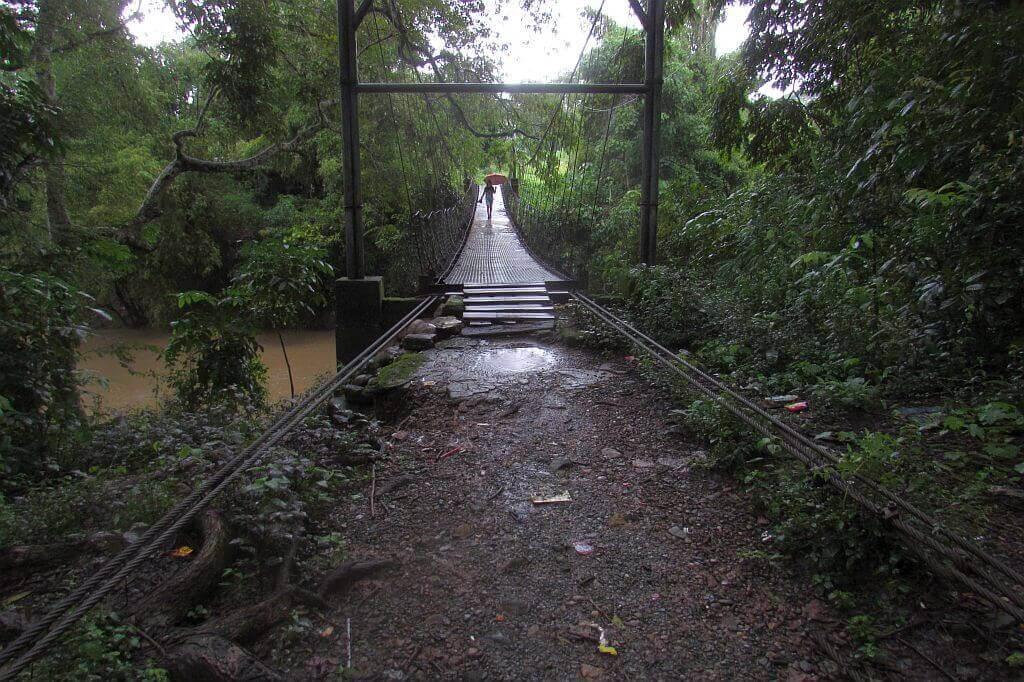 Hanging Bridge in ASIST Campus, Lagangilang