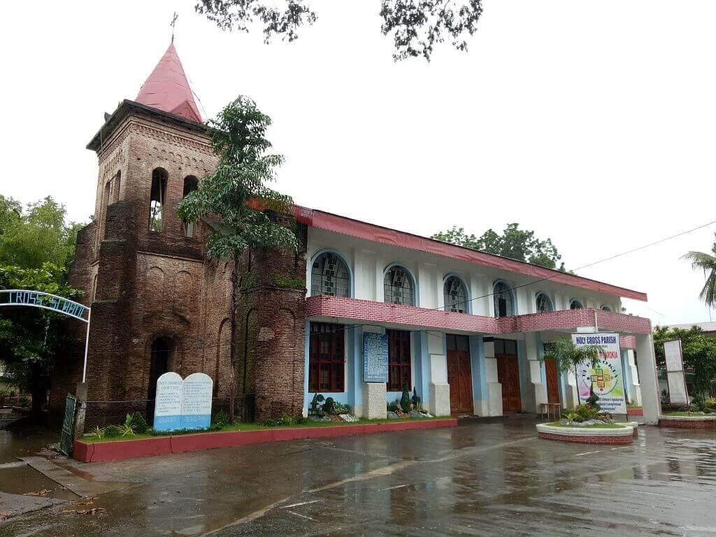 Holy Cross Parish Church, Lagangilang