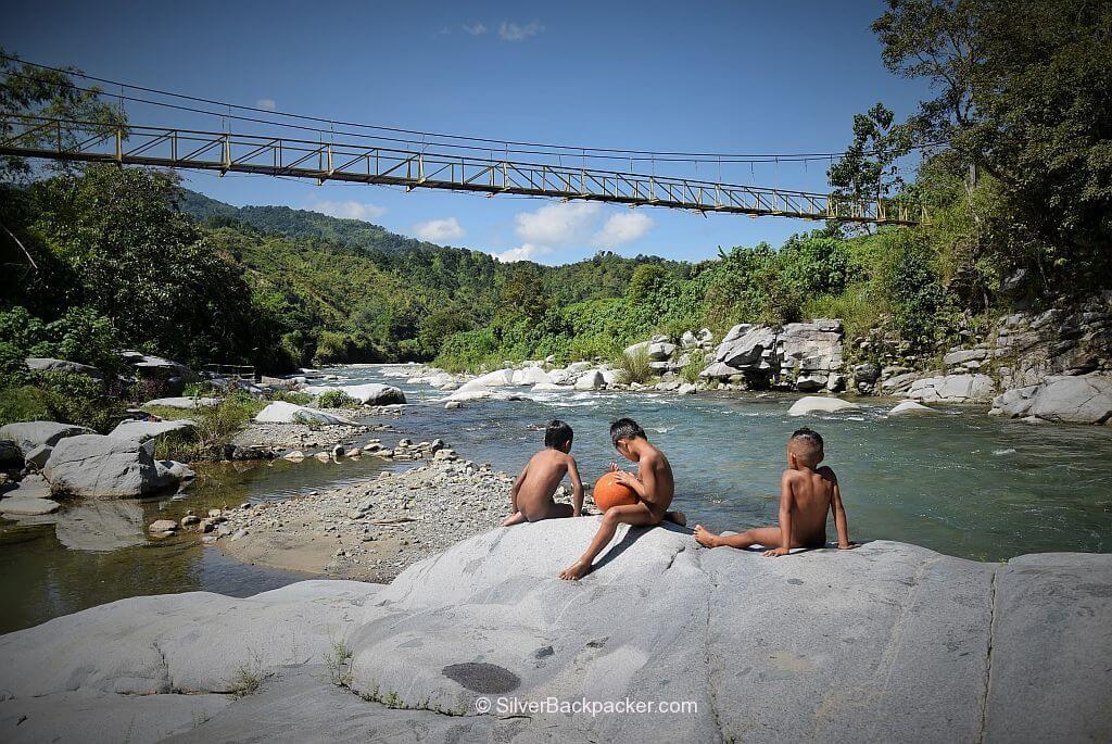 Hanging Bridge, Salidummay, Cabaruyan, Daguioman, Abra