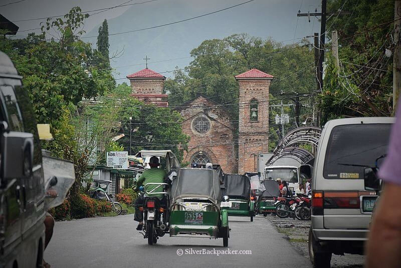 Santiago Street on way to San Lorenzo Ruiz Shrine, Bangued, Abra