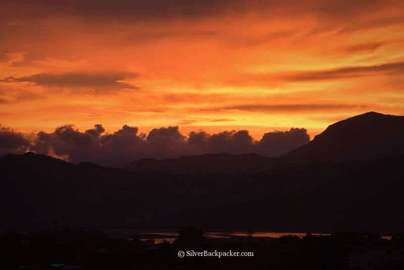 Sunsets over the Abra River, Calaba, Abra