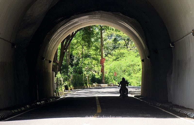 Tagandan Tunnel. Entrance to Abra from Ilocos Sur