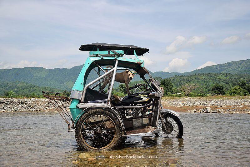 Tricycle Washday, Calaba, Abra