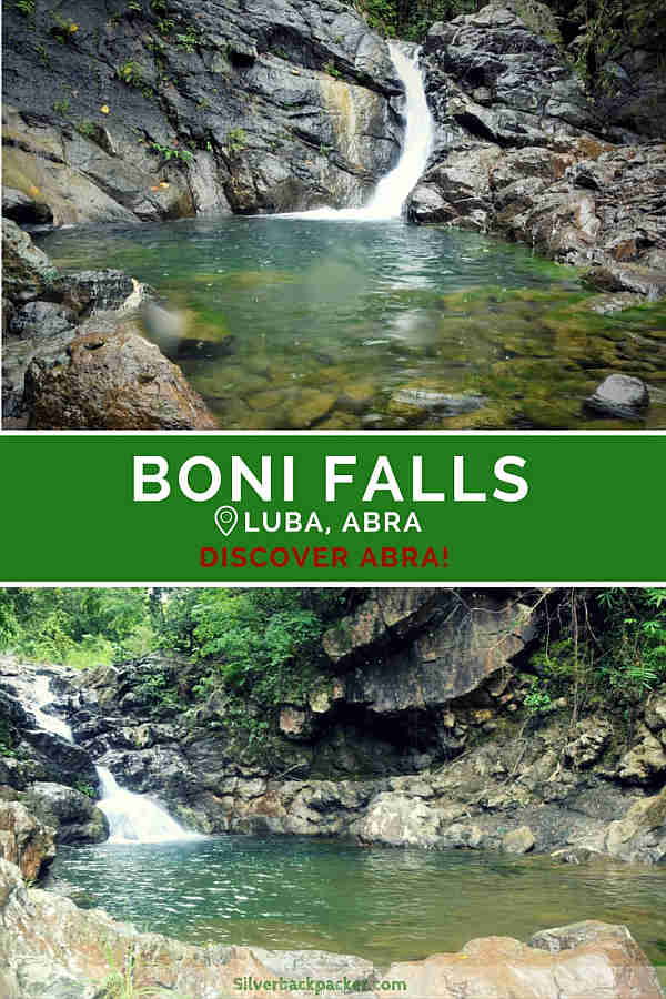 Waterfalls of Abra, Boni Falls