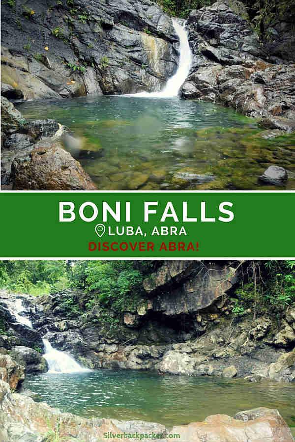 Boni Falls, Luba, Abra , Philippines Things to do in Luba