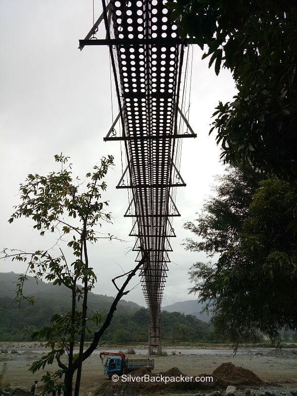 Hanging Bridge, Poblacion, Luba, Abra