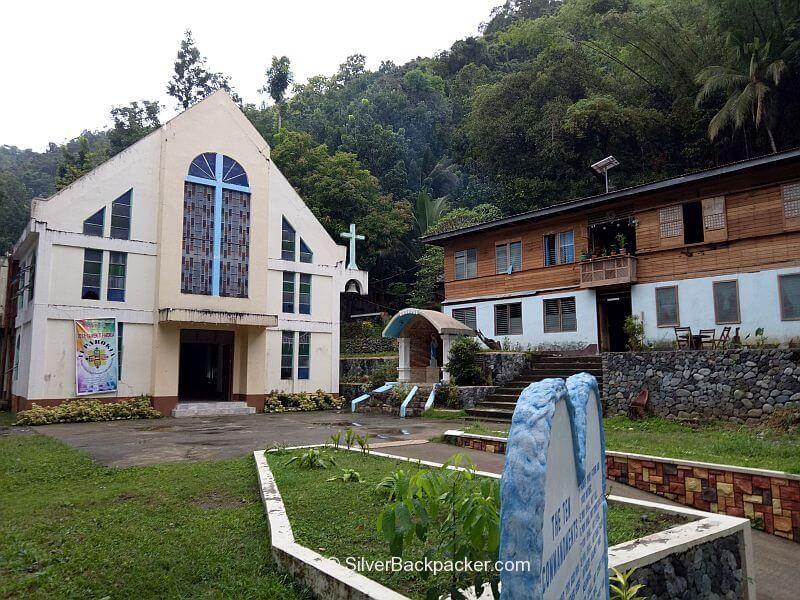 Luba Church, Abra